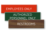 XpressPlate Engraved Signs – Low Cost