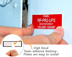 High Bond Foam Adhesive Backing Plates