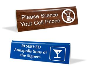 Quotation for Desktop Tent Signs