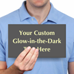 Custom Glow Engraved Sign