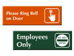 In-Stock Engraved Signs