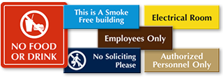 In-Stock Engraved Signs - Premium