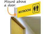 In-Stock Corridor Signs