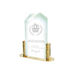 Pop-in Acrylics Corners Award with Base