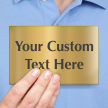 Create Your Own Engraved Brass Sign
